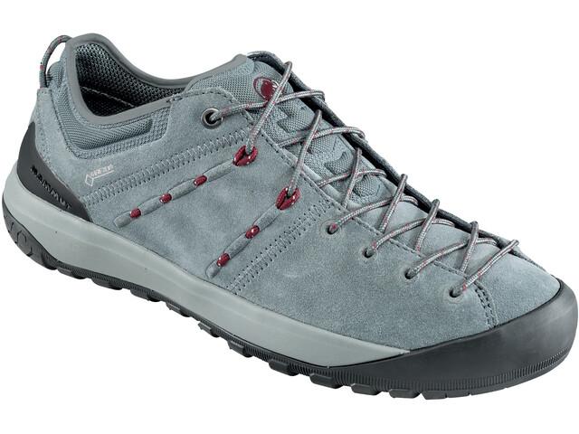 Mammut Hueco Low GTX Shoes Dame grey-dark beet